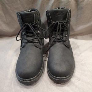 Men's American Exchange Black Boots - Size 12